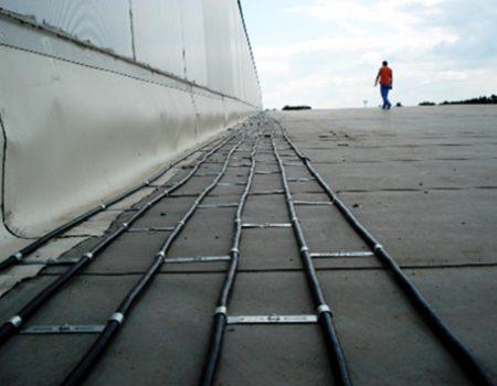 Grijanje dijela krova