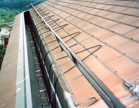 Grijanje duboke uvale i dijela krova
