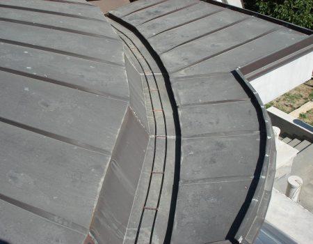 Grijanje uvale bakrenog krova