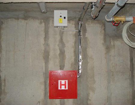 Grijanje hidrantskog cjevovoda