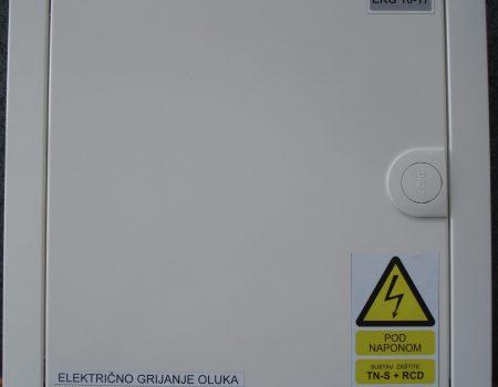 Električni razdjelnik malog grijanja oluka
