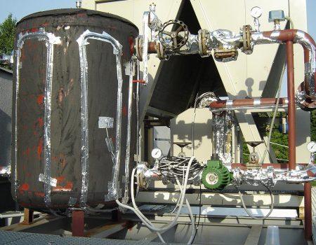 Grijanje rezervoara i cjevovoda