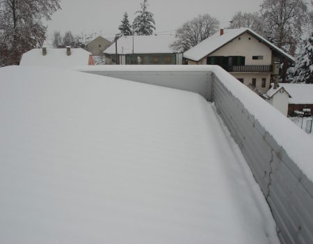 Snijeg u oluku
