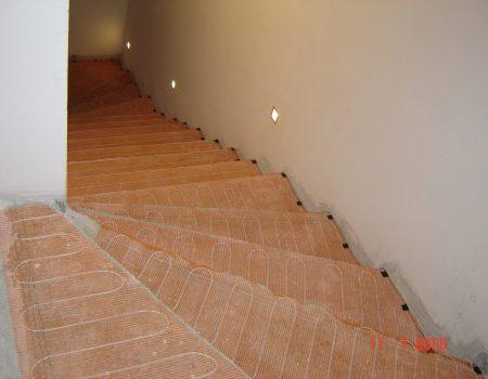 Specijalna tanka grijaća mreža za unutarnje stepenice