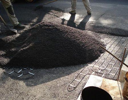 Obvezno ručno asfaltiranje 2. sloja asfalta