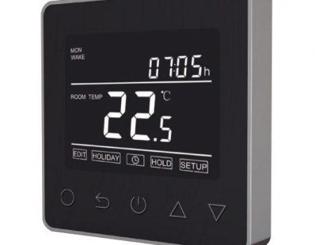 Wi-Fi termostat ET-61W (crno/srebrni)