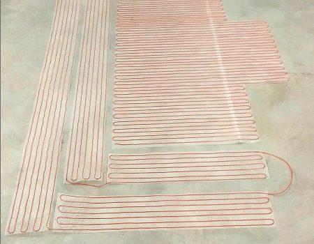 Tanka grijaća mreža za vanjske stepenice i podest