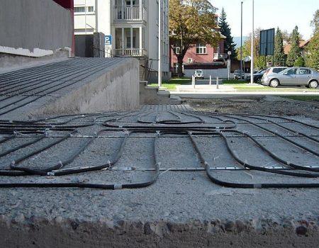 Ugradnja gijaćih kabela na rampu za invalide