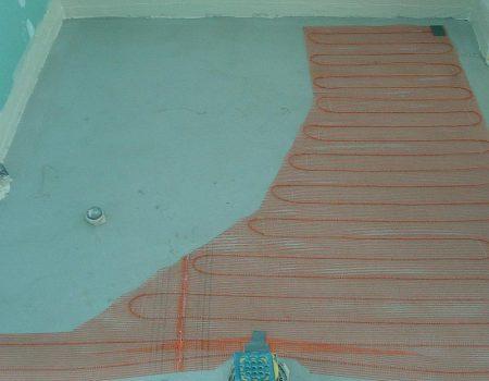 Specijalna tanka grijaća mreža u kupaonici