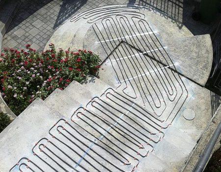 Ugradnja grijaćih kabela na stepenice i podeste