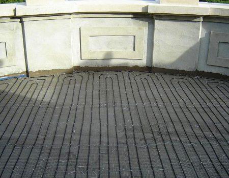 Ugradnja grijaćih kabela na terasu